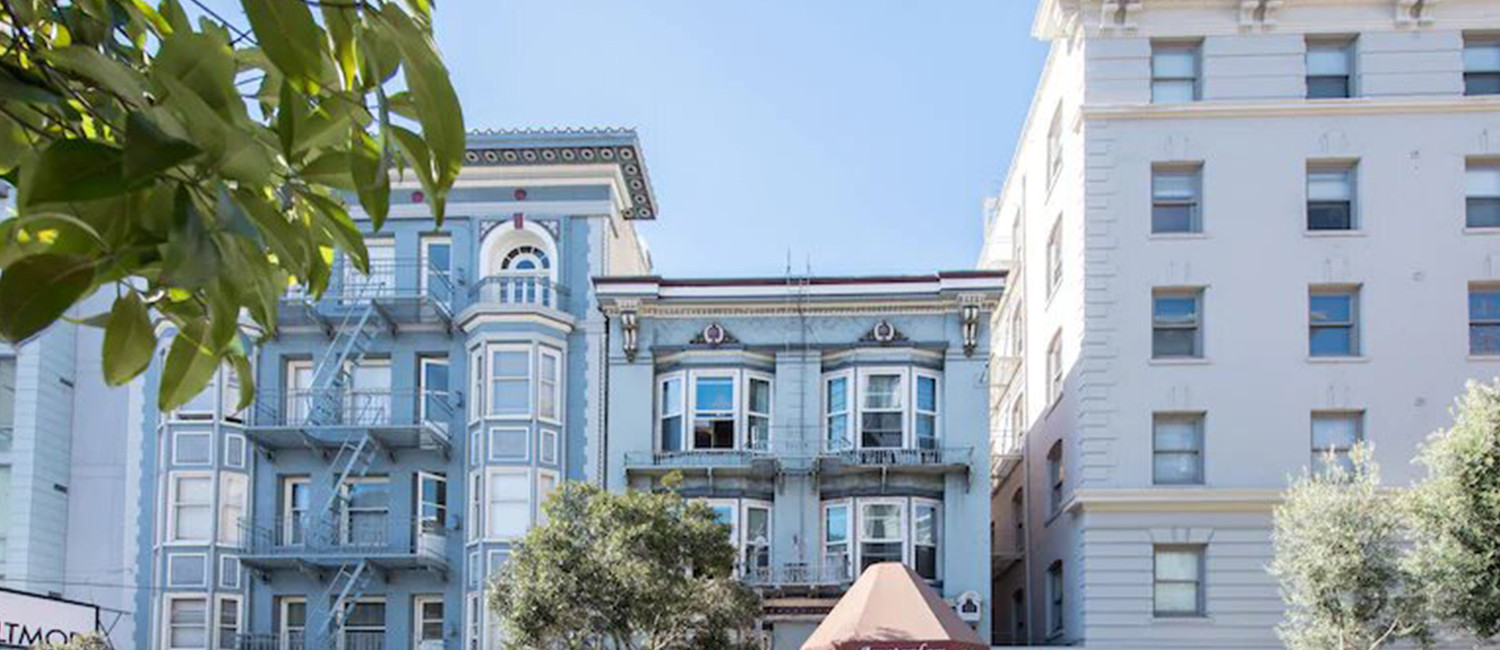 THE AMSTERDAM HOSTEL SAN FRANCISCO IS THE IDEAL SETTING FOR A SAN FRANCISCO GETAWAY